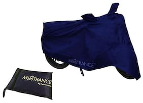 Mototrance Blue Bike Body Cover For Hero Glamour Programmed FI