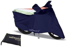 Mototrance Freedom Tri Stripe Bike Body Cover For Suzuki Swish 125