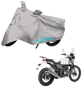 Mototrance Silver Bike Body Cover For Royal Enfield Himalayan