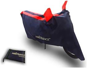 Mototrance Sporty Arc Blue Red Bike Body Cover For TVS Apache 160 Fi