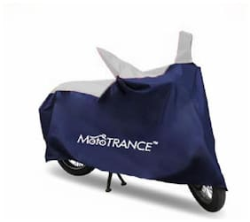 Mototrance Sporty Blue Bike Body Cover For Bajaj Avenger 220 Cruise