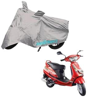 Mototrance Silver Bike Body Cover For Mahindra Duro 125