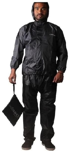 Mototrance Strombreaker Rain Suit With Carry Bag Raincoat (Size-XL)