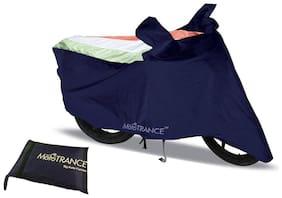 Mototrance Sporty Arc Blue Freedom Tri Bike Body Cover For Honda Eterno