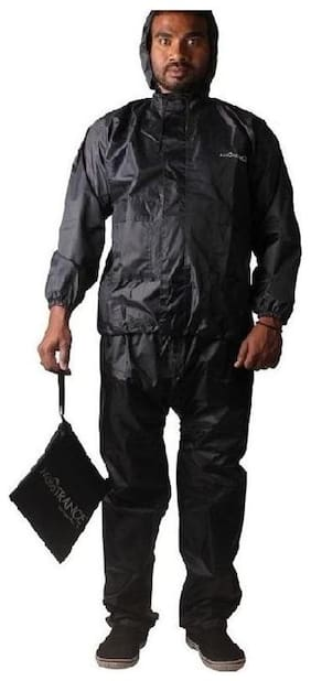 Mototrance Strombreaker Rain Suit With Carry Bag Raincoat (Size-L)