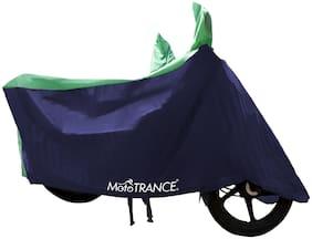 Mototrance Sporty Green Blue Bike Body Cover For Kawasaki Ninja 300