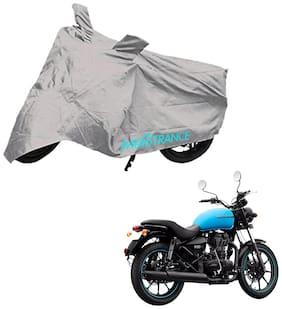 Mototrance Silver Bike Body Cover For Royal Enfield Thunderbird 500