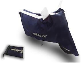 Mototrance Sporty Arc Blue White Bike Body Cover For Honda Activa 3G