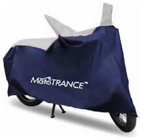 Mototrance Sporty Blue Bike Body Cover For Honda Activa 125