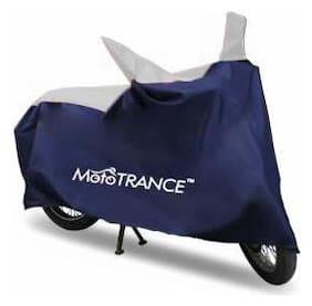 Mototrance Sporty Arc Blue Sporty Blue Bike Body Cover For Hero Glamour Programmed FI