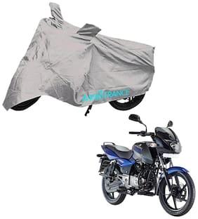 Mototrance Silver Bike Body Cover For Bajaj Pulsar 150