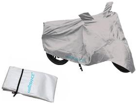 Mototrance Silver Bike Body Cover For Bajaj Pulsar 180