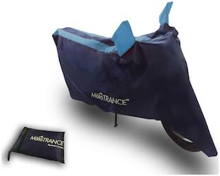 Mototrance Sporty Arc Blue Aqua Bike Body Cover For Hero Super Splendor
