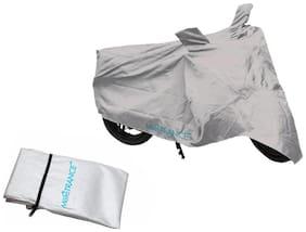 Mototrance Silver Bike Body Cover For Suzuki Swish 125