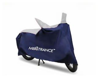 Mototrance Sporty Blue Bike Body Cover For Hero Super Splendor