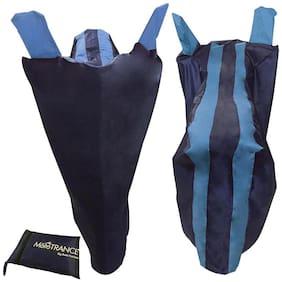 Mototrance - Sporty Arc Blue Aqua Bike Body Cover for Yamaha F I Double Seater