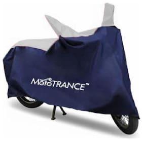 Mototrance Sporty Blue Bike Body Cover For Bajaj Pulsar AS200