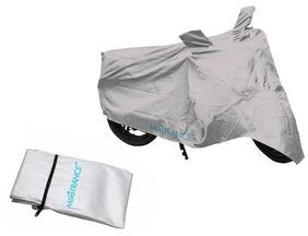 Mototrance Silver Bike Body Cover For Honda Activa