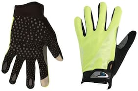 Mototrance Touch Recognition Full Finger All Season Outdoor Gloves   Large Size
