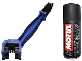 MOTUL CHAIN SPRAY WITH BRUSH