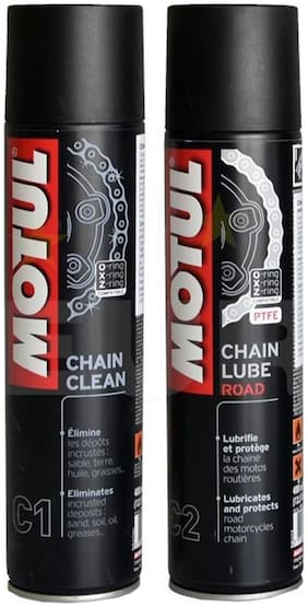 Motul Combo Chain Lube Road 400 ml & Chain Clean 400 ml