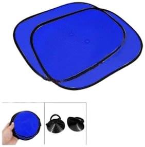 MP Car Side Window Sunshade for -Hyundai-Verna Fluidic-Set of 4 PC - Blue