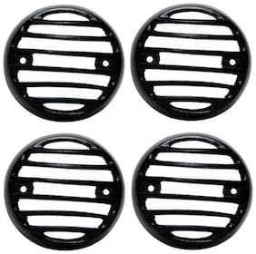 MP Stylish Black Indicator Protector Grill For Royal Enfield Bullet 350 Set Of 4