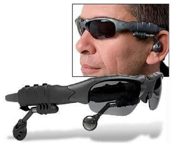 Mp3 Player Sunglasses Goggles Expandable Up To 32 GB   MP3G001 by Shopper Fifty Two