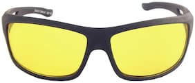 MPI Bike/Bicycle/Car Night Vision Driving Sunglass Goggels -703-ylw