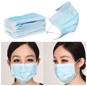 MPI Disposable Earloop 3-Ply Non Woven Dust Face Mask (Pack of 200)
