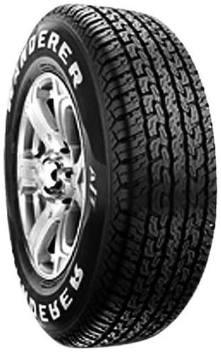 Buy Mrf Wanderer 4 Wheeler Tyre 215 75 R15 Tube Less Online At