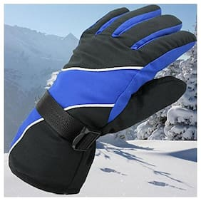 MS TRADING COMPANY  Inside Furry Warm Hand Gloves Protect For Winter(Assorted Color)