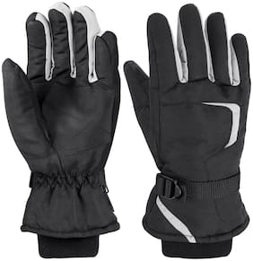 MS TRADING COMPANY  Warm Hand Gloves with Inside Furry for Protect From Winter (Assorted Color, Free Size)