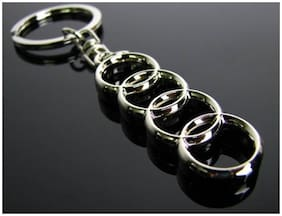 MSTC Audi Keychain For Car, Bike, etc.
