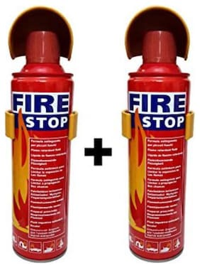QUXXA fire stop home/car Fire Extinguisher Mount (Set of 2)