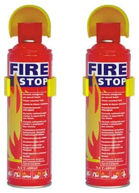 QUXXA Fire Stop FMS Fire Extinguisher Mount (Set of 2)