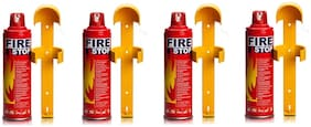 QUXXA Fire Stop Fire Extinguisher Mount with Stand (Set of 4)