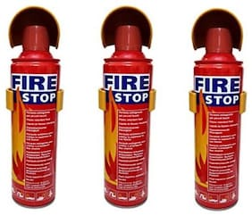 QUXXA fire stop home/car Fire Extinguisher Mount (Set of 3)