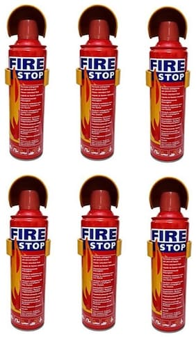 QUXXA Fire Stop FMS Fire Extinguisher Mount (Set of 6)