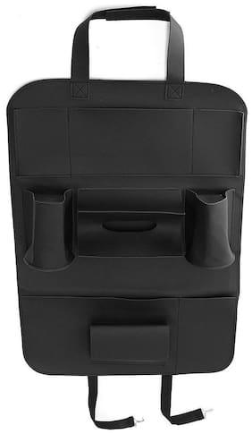 Multifunctional Pocket Car Backseat Phone Holder PU Leather Seat Organizer Storage for Phone Tablet