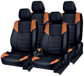 Musicar  Black Leatherite Ford Eco Sport Leatherite Car Seat Covers