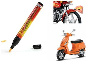 Mxs Bike Auto Smart Coat Paint Scratch Repair Remover Touch Up Pen - Piaggio Vespa S