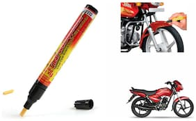 Mxs Bike Auto Smart Coat Paint Scratch Repair Remover Touch Up Pen - Tvs Star Sport