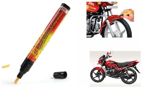 Mxs Bike Auto Smart Coat Paint Scratch Repair Remover Touch Up Pen - Hero Motocorp Passion Pro