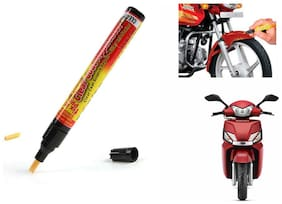 Mxs Bike Auto Smart Coat Paint Scratch Repair Remover Touch Up Pen - Mahindra Scooter Ghusto