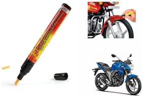 Mxs Bike Auto Smart Coat Paint Scratch Repair Remover Touch Up Pen - Suzuki Gixxer