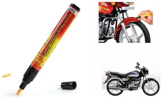 Mxs Bike Auto Smart Coat Paint Scratch Repair Remover Touch Up Pen - Hero Motocorp Splendor Pro
