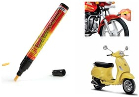 Mxs Bike Auto Smart Coat Paint Scratch Repair Remover Touch Up Pen - Piaggio Vespa