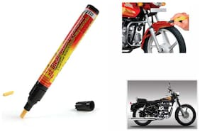 Mxs Bike Auto Smart Coat Paint Scratch Repair Remover Touch Up Pen - Royal Enfield Standard Streetbullet 350