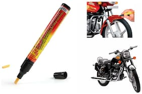 Mxs Bike Auto Smart Coat Paint Scratch Repair Remover Touch Up Pen - Royal Enfield Standard Street Bullet 500